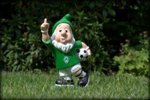 Werder Bremen Lied Gartenzwerg